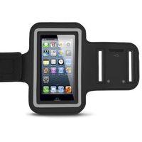 Pokrowiec etui na telefon smartfon do biegania na ramię rozmiar L - czarny