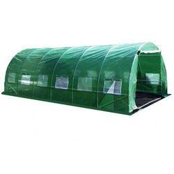 Tunel foliowy ogrodowy ogrodniczy szklarnia 3x6 m zielony uv5 marki Domogrodimy
