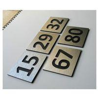 Numer, Numery Grawerowane na Drzwi z aluminium C2, 2953018455