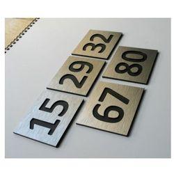 Numer, Numery Grawerowane na Drzwi z aluminium C2 z kategorii akcesoria do drzwi