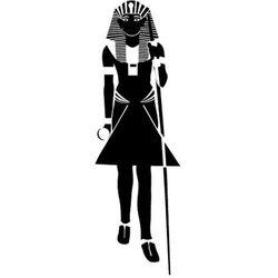 Szablon malarski z tworzywa, wielorazowy, wzór etniczny 30 - faraon marki Szabloneria