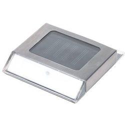 Solaris Obrysowa lampa solarna led ze stali nierdzewnej