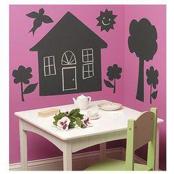 Wallies Naklejki Tablica Kredowa Domek z kategorii Pozostałe meble do pokoju dziecięcego