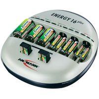 Ładowarka do akumulatorków Ansmann Energy 16 plus 1001-0004-510, AAA, AA, C, D, 9 V (4013674011025)