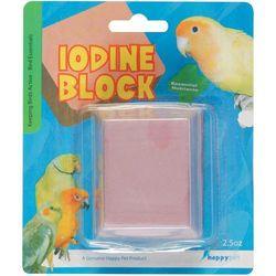 Kostka z jodem do dziobania marki HappyPet - produkt z kategorii- Pokarmy dla ptaków