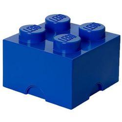 POJEMNIK LEGO 4 NIEBIESKI - LEGO POJEMNIKI, 4003
