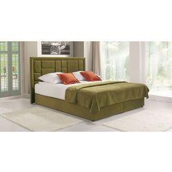 Libro Linea lsbk 160 łóżko tapicerowane z pojemnikiem i materacem