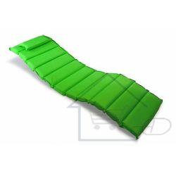 Wysokiej jakości poduszka na leżak zielona 1 segmentów marki 1