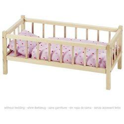 Łóżeczko drewniane dla lalek od producenta Goki