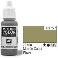 Vallejo  farba nr115 khaki matt 17ml, kategoria: farby modelarskie