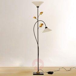 J. holländer Holländer foglie lampa stojąca brązowy, złoty, 2-punktowe