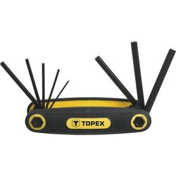 Zestaw kluczy sześciokątnych TOPEX 35D958 1.5 - 6 mm (8 elementów), T 35D958