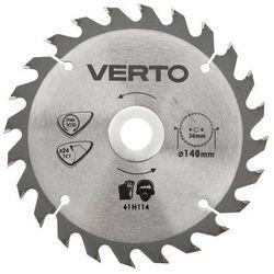 Tarcza do cięcia VERTO 61H123 185 x 30 mm do pilarki widiowa - produkt z kategorii- Tarcze do cięcia