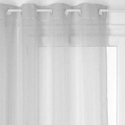 Szara zasłona INSULLYIN w lekkim gładkim stylu modern (3560234529120)