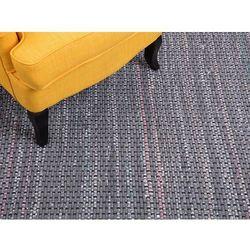 Dywan - szary - 160x230 cm - bawełna - handmade - BESNI