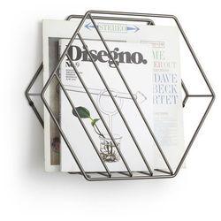 Gazetnik ścienny | stojący Umbra Zina titanium, 1008973-378