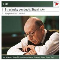 Stravinsky Conducts Stravinsky: Symphonies And Concertos (CD) - Igor Stravinsky