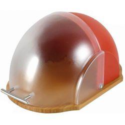 Chlebak drewniany z pokrywą plastikową Vader Red (śr. 260), towar z kategorii: Chlebaki