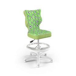 Entelo Krzesło dziecięce na wzrost 133-159cm petit biały st29 rozmiar 4 wk+p