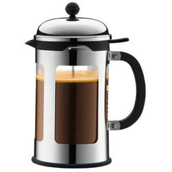 Bodum Zaparzacz do kawy z zaworem chambord, 8 fliliżanek, 1.00 l, chrom - 1,00 litra