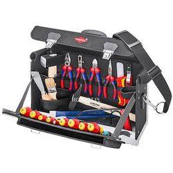 Knipex walizka narzędziowa 24-częsciowa dla początkujących elektryków 00 21 02 sl