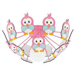 95637 - lampa dziecięca sufitowa viki 2 1xe27/60w/230v różowa marki Eglo