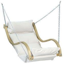 Drewniany fotel hamakowy, ecru Fat Chair