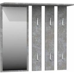 Tes Wieszak z lustrem lille beton (5902838468432)