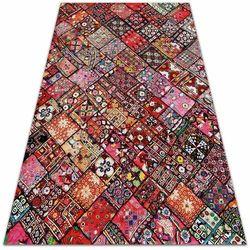 Dywan ogrodowy piękny wzór Dywan ogrodowy piękny wzór Patchwork mozaika