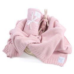 Colorstories Duży koc : cottonclassic - różowy