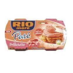 Pasztet z szynki gotowanej Rio Mare 2x84g z kategorii Konserwy i pasztety mięsne