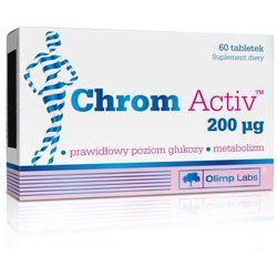 Olimp Chrom Activ 200ug 60 tabl. - tabletki tabletki na odchudzanie