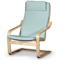 Dekoria Poduszka na fotel Poäng II, pastelowy błękit, Fotel Poäng II, Cotton Panama
