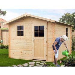 Drewniany domek ogrodowy hiacynt marki Megiw