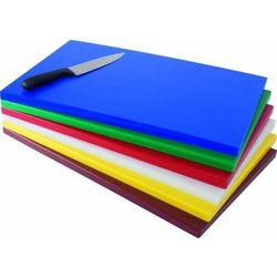 Polietylenowa deska do krojenia GN | 530x325x(H)18mm | różne kolory