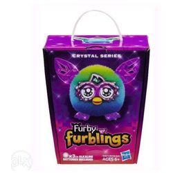 Furby Furbling Crystal A9621 Zielono-niebieski A6100 - Hasbro (5900000883441)