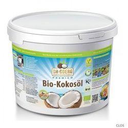 Olej kokosowy tłoczony na zimno bio 3 litry -  wyprodukowany przez Dr goerg