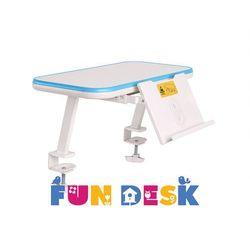 SS16 Blue - Mini półka na książki z podstawką - FunDesk