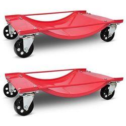 Vidaxl wózek transportowy 2 sztuki. (8718475842828)