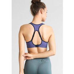 Nike Performance RIVAL Biustonosz sportowy green glow/dark purple dust/obsidian - sprawdź w wybranym sklepie