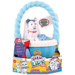 Cobi Little Live Pets piesek w koszyku niebieski - produkt dostępny w Satysfakcja