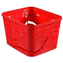 Koszyk Londyn czerwony