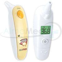 Rossmax  ha500 termometr bezkontaktowy - wyprzedaż! gratis krem dla dzieci!