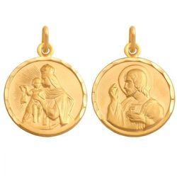 Złoty medalik - 41940 - pr.585 od producenta Rodium