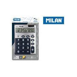 Kalkulator Milan 10 pozycyjny Silver duże klawisze, niebieski, WIKR-0997385
