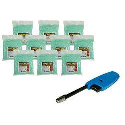 Spalsadz preparat do spalania sadzy w kominkach, kotłach, piecach 10 kg (10szt x 1kg) + Zapalarka GH11