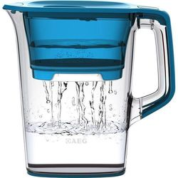 Dzbanek filtrujący AEG 9001669838, przezroczysty, niebieski (przezroczysty), towar z kategorii: Dzbanki filtrujące