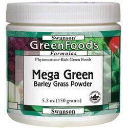Mega Green Barley Grass (sproszkowany sok z młodej trawy jęczmienia) 150gram - produkt z kategorii- Pozosta�