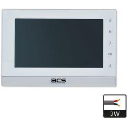 Monitor wideodomofonowy ip -mon7200w-2w marki Bcs