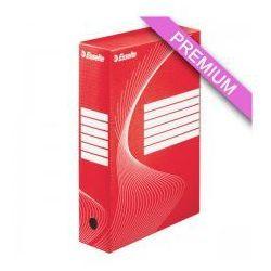 Pudło archiwizacyjne  80mm czerwone marki Esselte